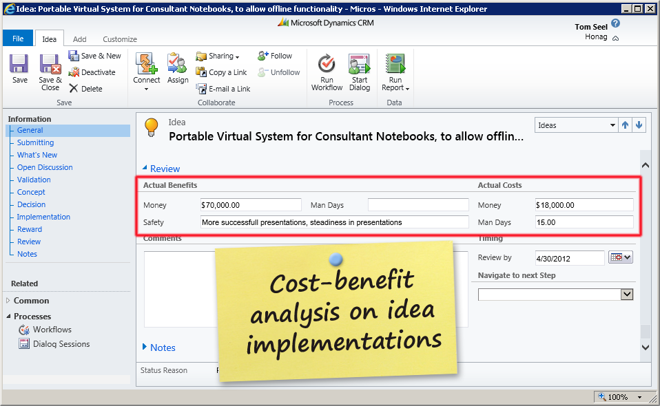 sap implementation cost benefit analysis Benefit to the customer as a result of using solution manager product  cost/benefit estimations  evaluations also contain current sap notes and are.